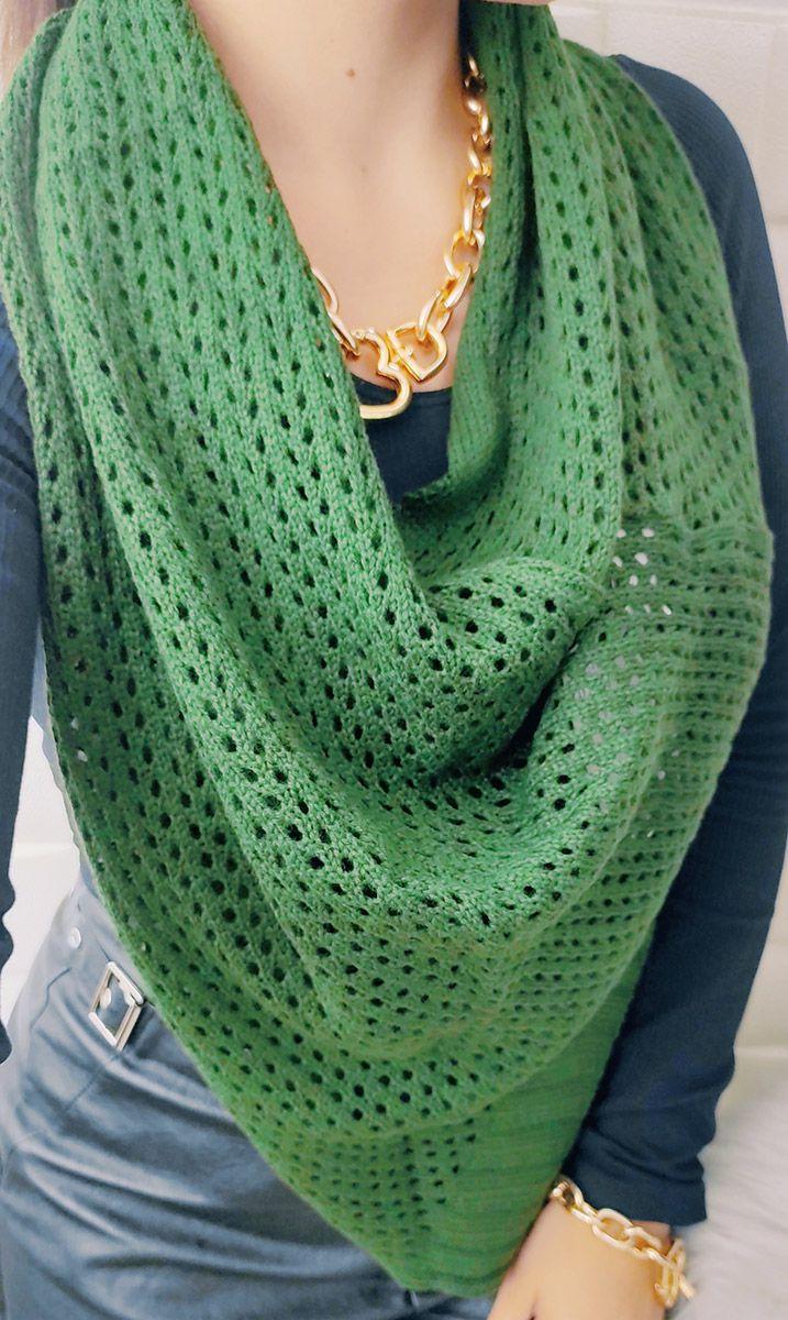 Maxi gola verde