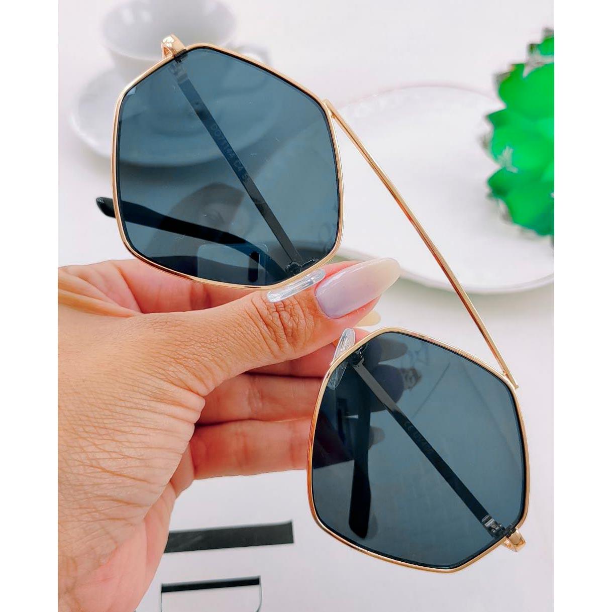 Óculos de Sol Hexagonais ''Eva''
