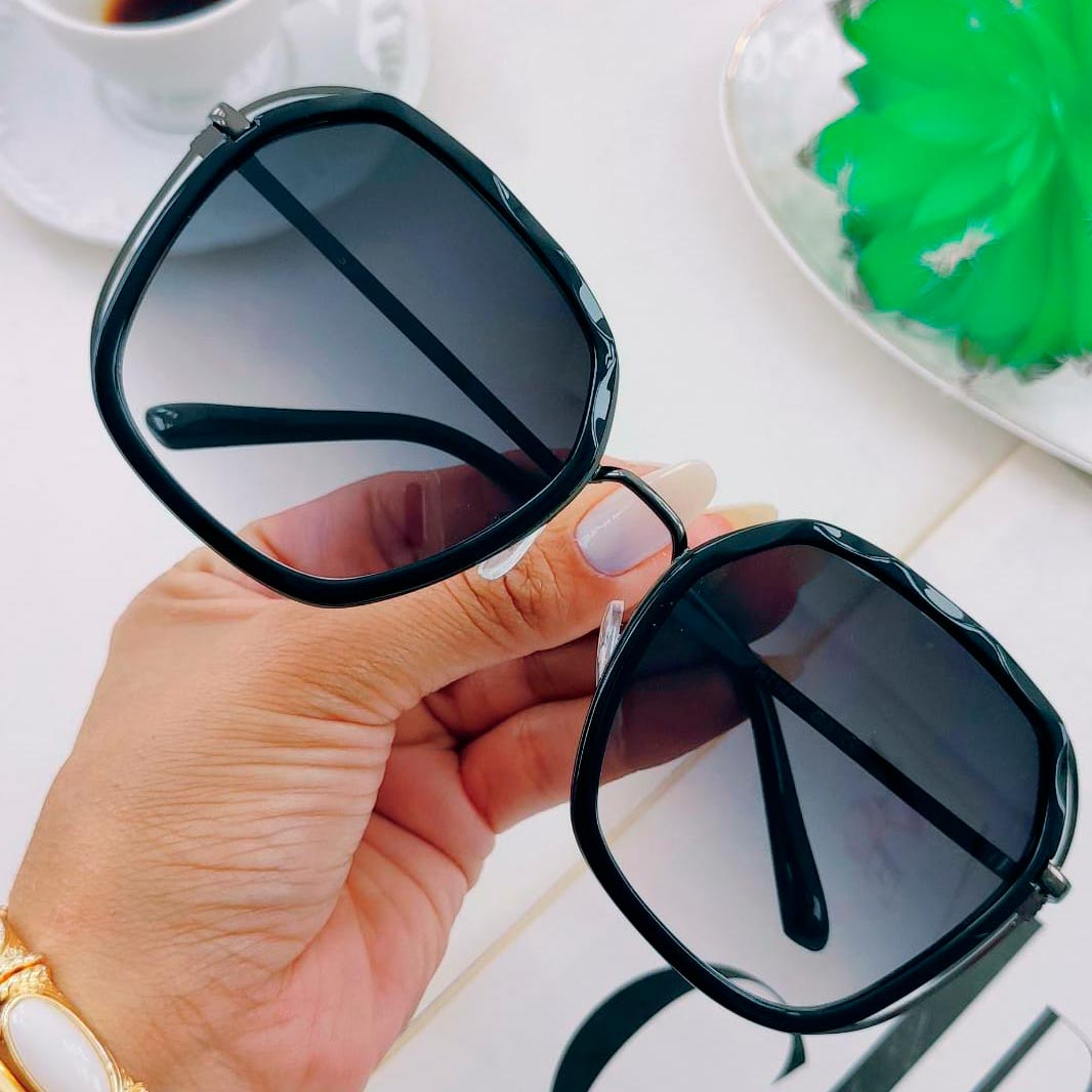 Óculos de Sol Hexagonais ''Ivy''