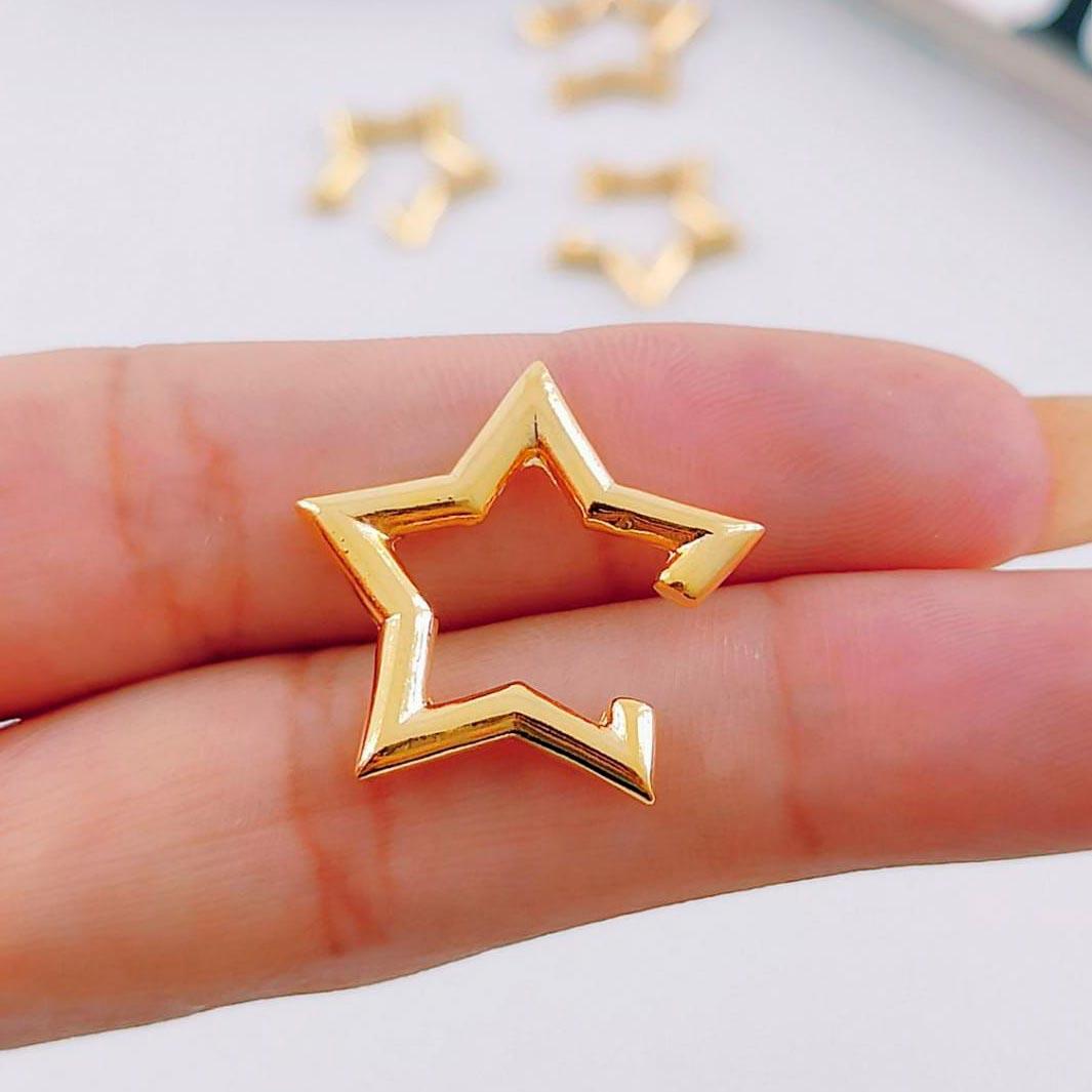 Piercing Fake de Estrela Liso