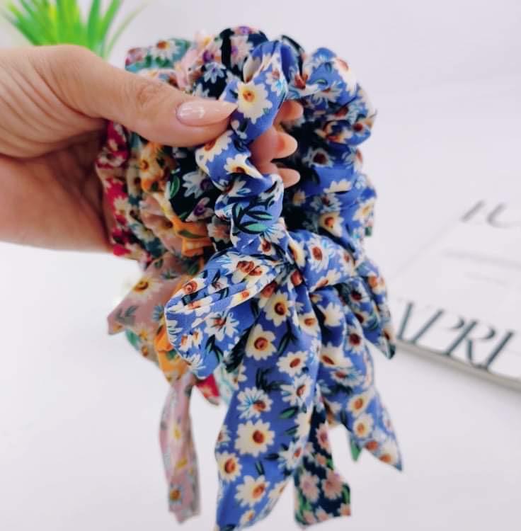 Scrunch Estampa Floral