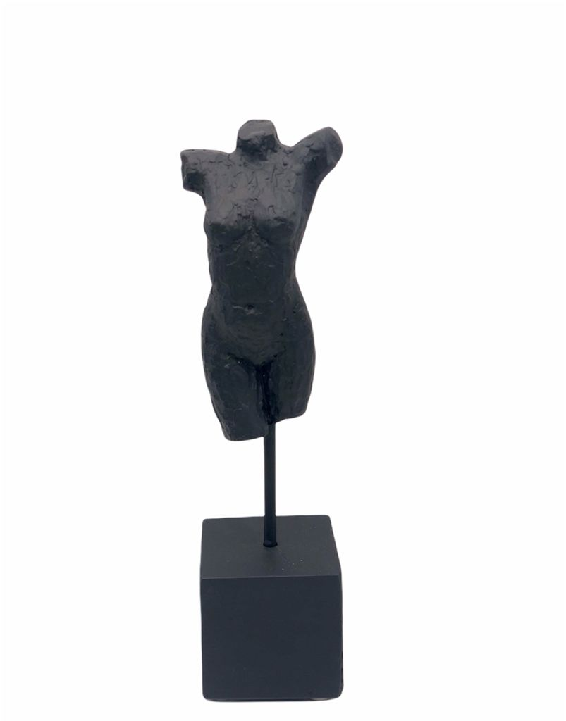 Escultura Tronco Preta