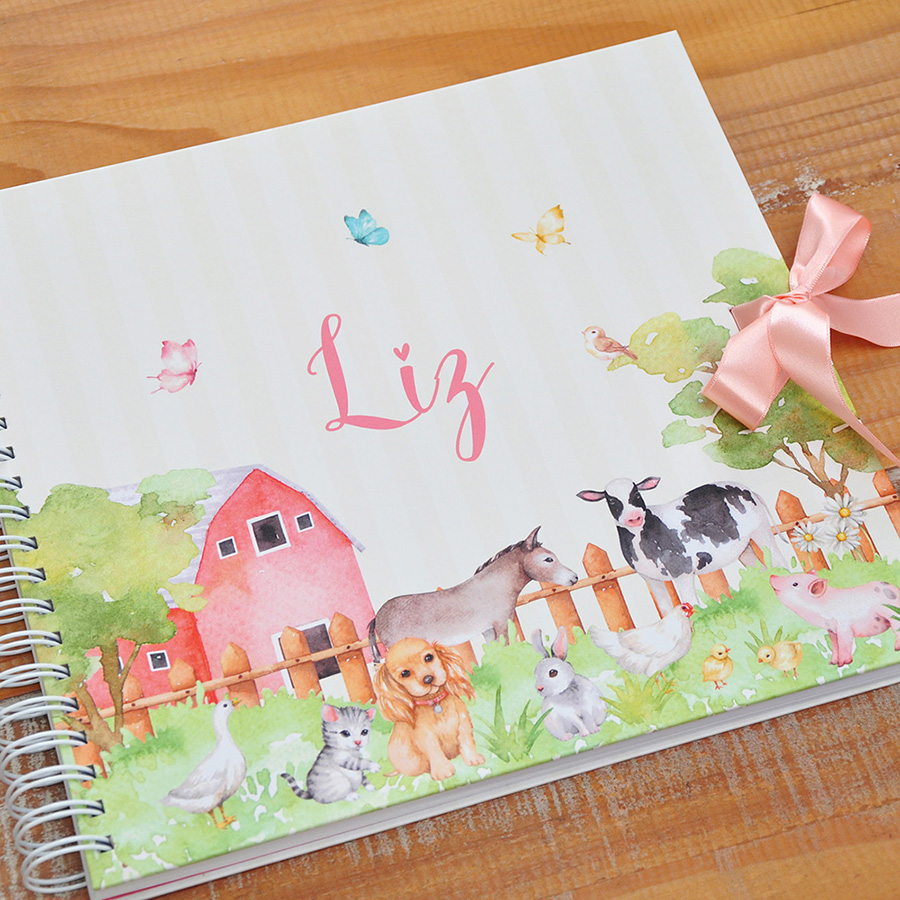 Álbum Animais na Fazenda