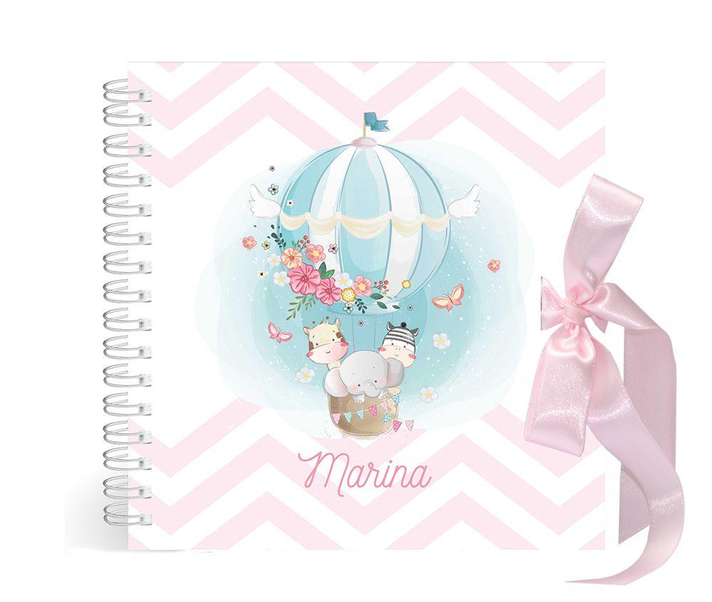 Álbum Animais no Balão Rosa