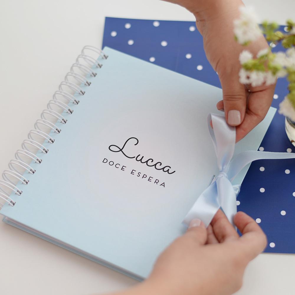 Álbum Gestação Candy Azul