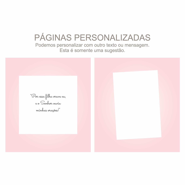 Álbum Gestação Candy Rosa