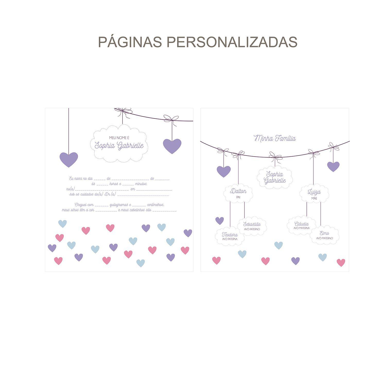 Álbum Chuva de Amor Lilás