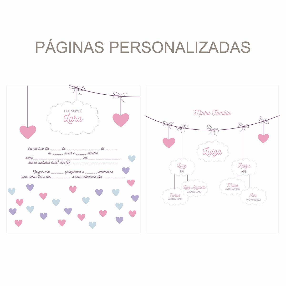 Álbum Chuva de Amor Rosa