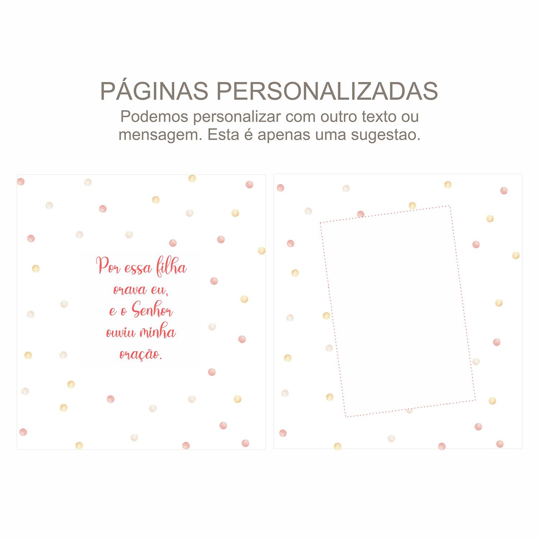 Álbum Gestação Confetti Rosa