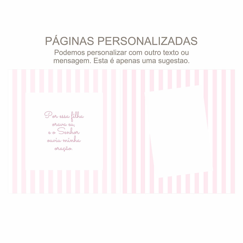 Álbum Gestação Listras Rosa