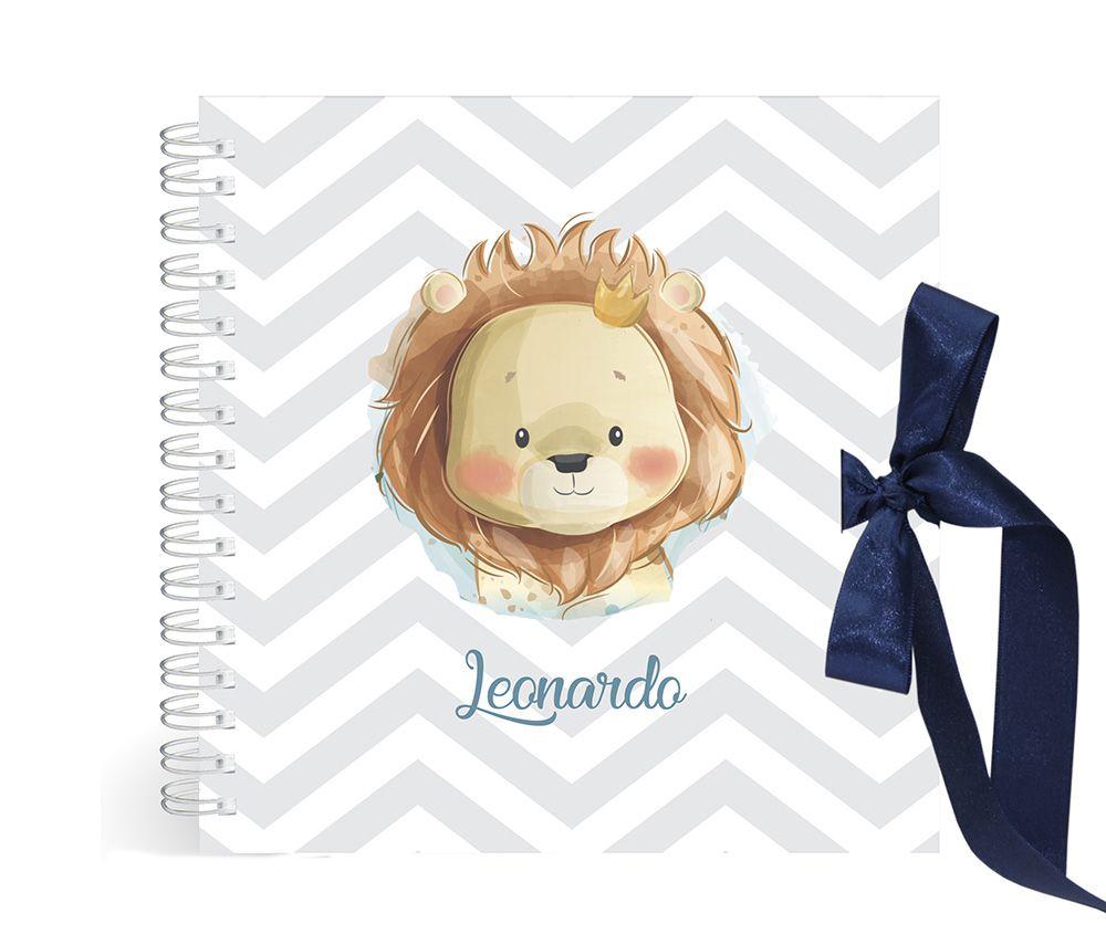 Álbum Leão Azul