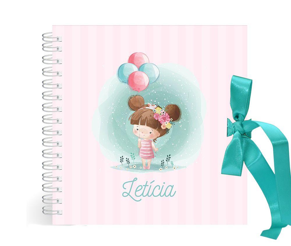 Álbum Menina com Balões