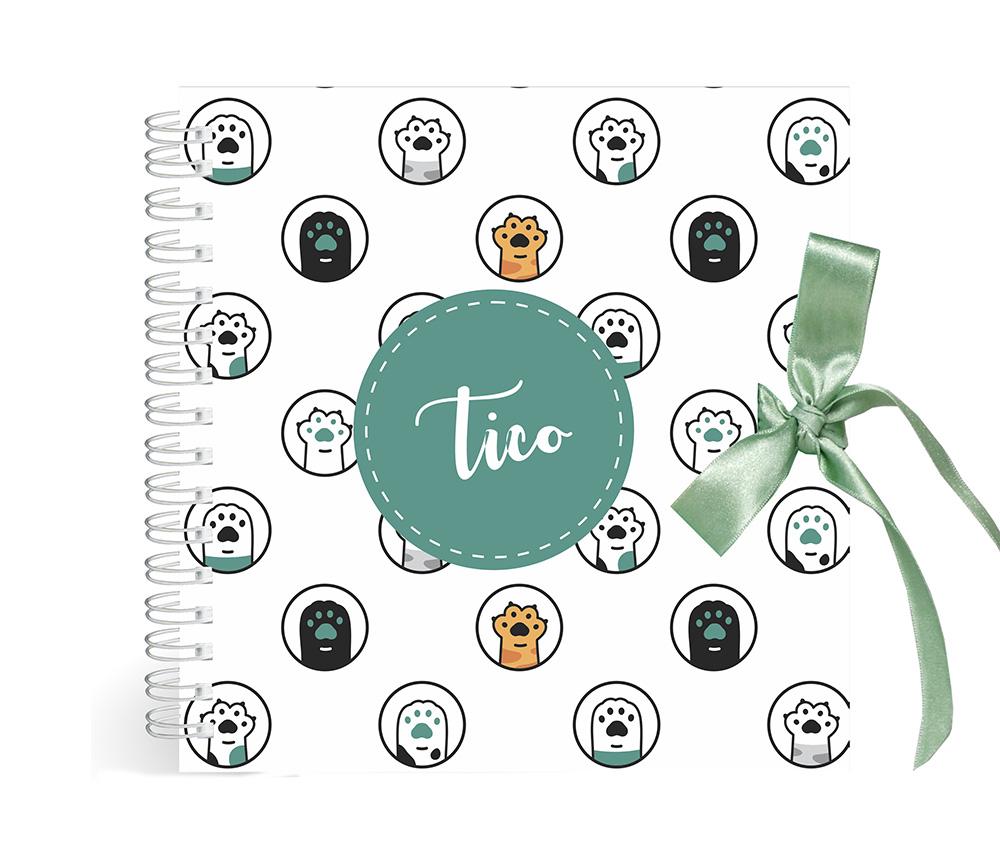 Álbum Pet Patinhas - verde