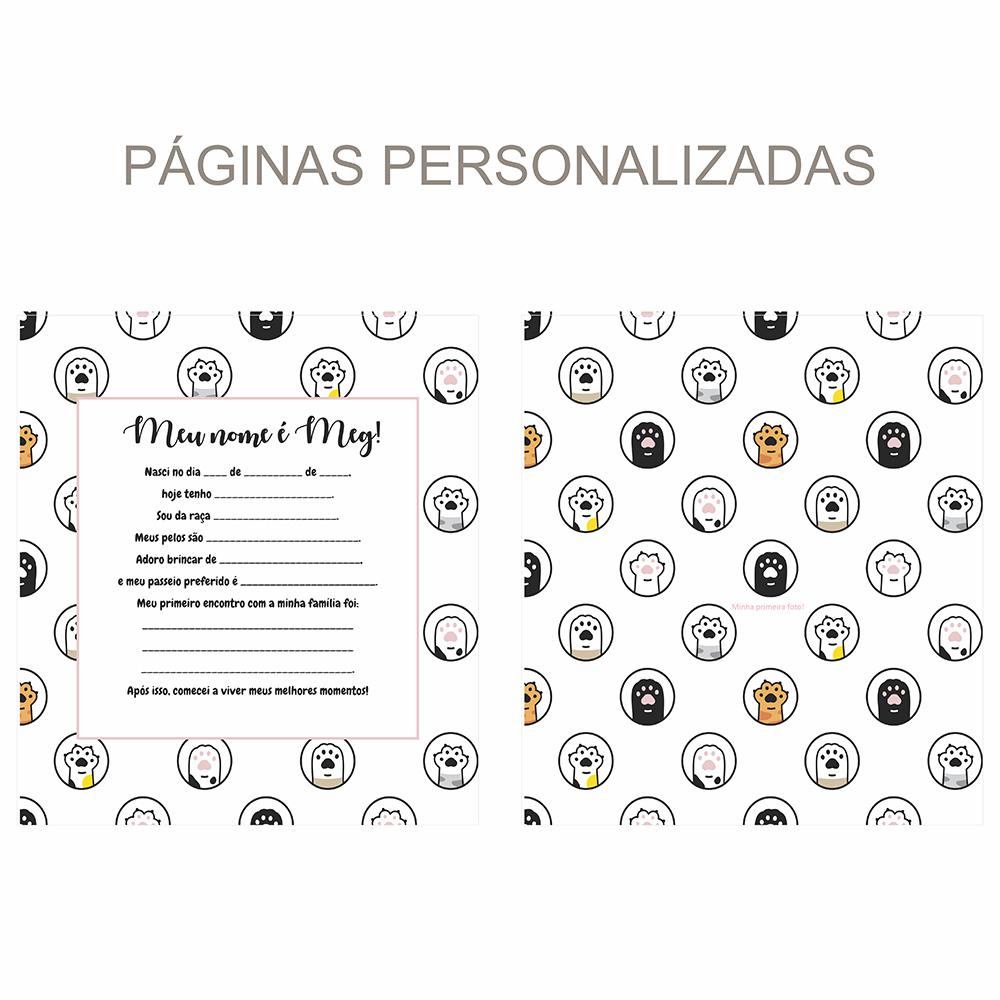 Álbum Pet Patinhas - rosa
