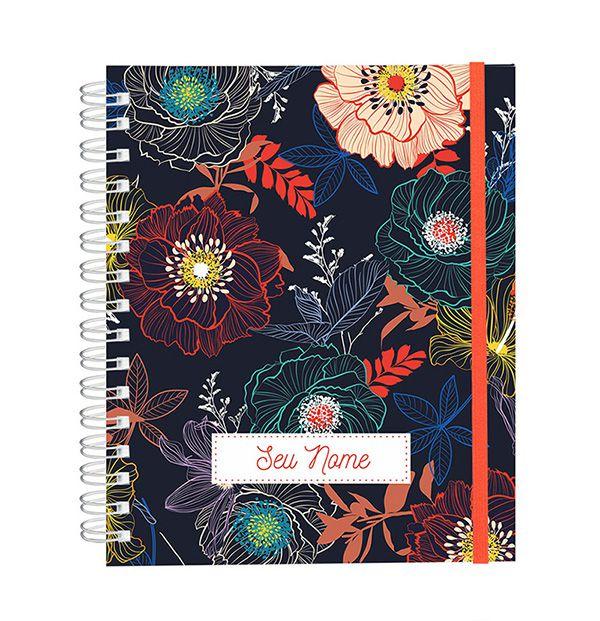 Caderno Blue Forest