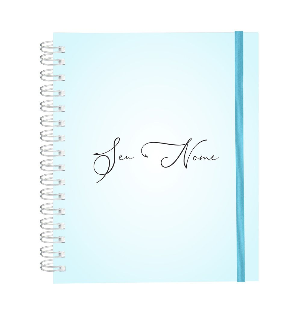 Caderno Candy Blue