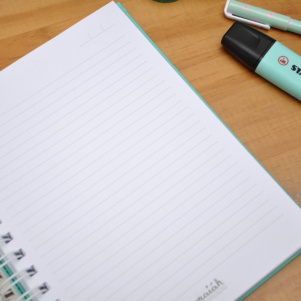 Caderno Candy Blue