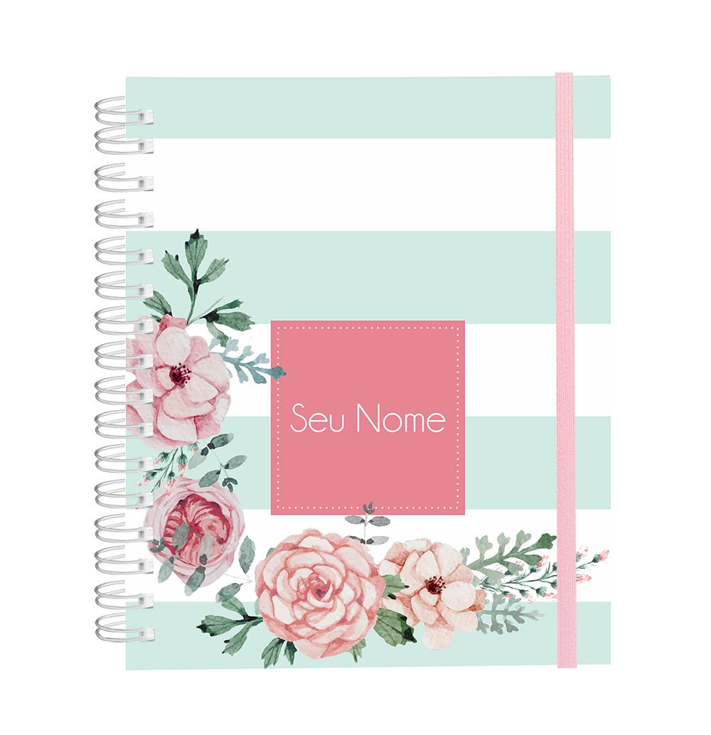 Caderno Candy Flowers