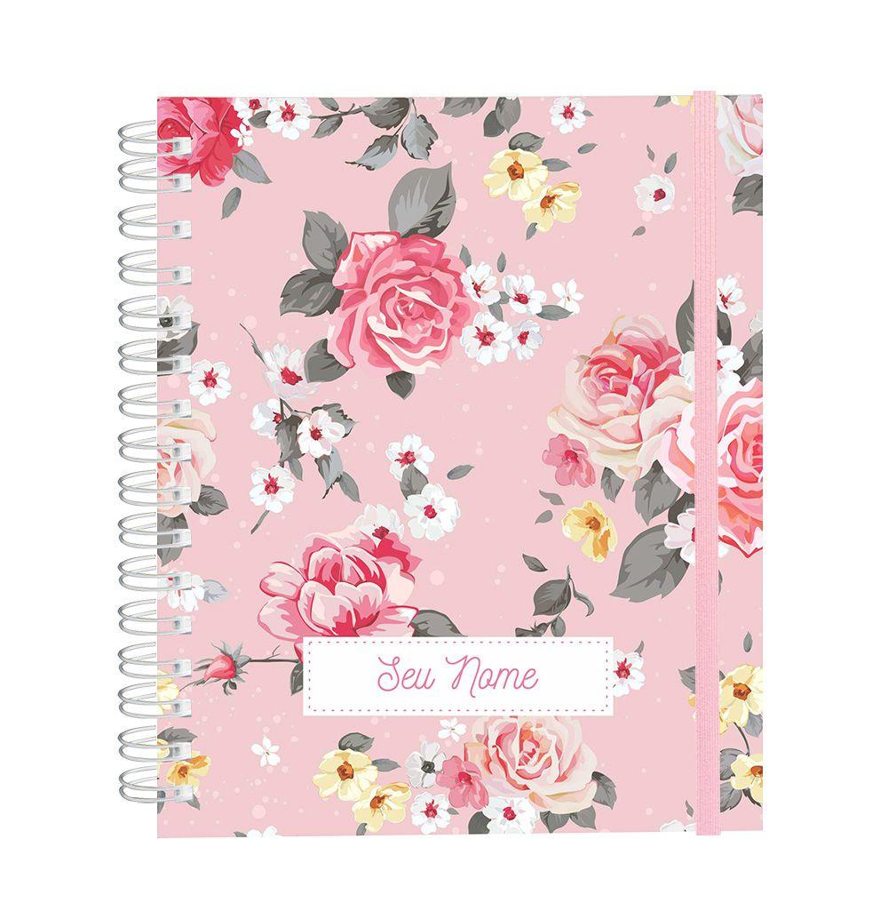Caderno Candy Roses