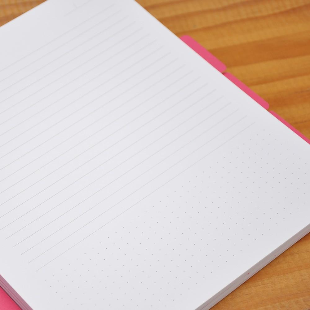 Caderno Com Divisórias