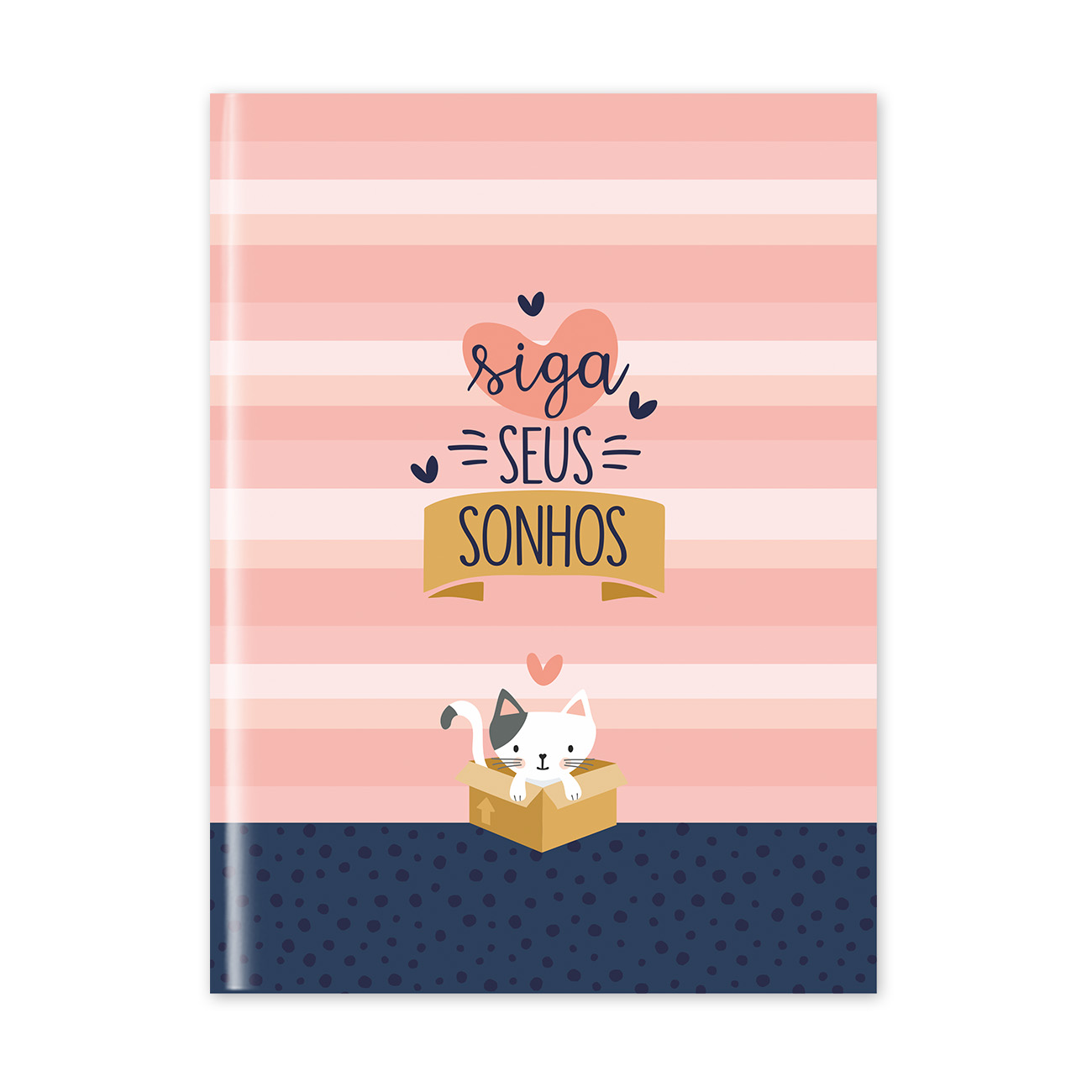 Caderno Flexível Cats