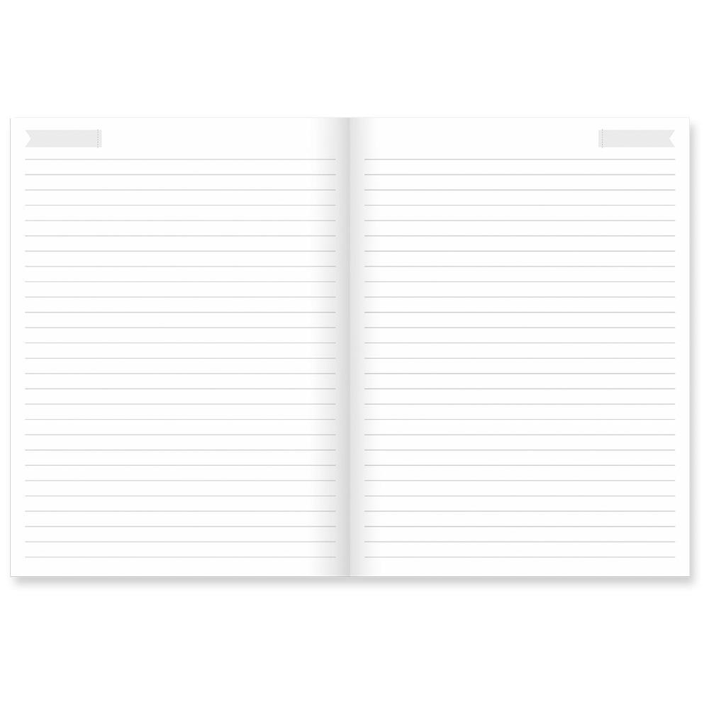 Caderno Flexível Florir
