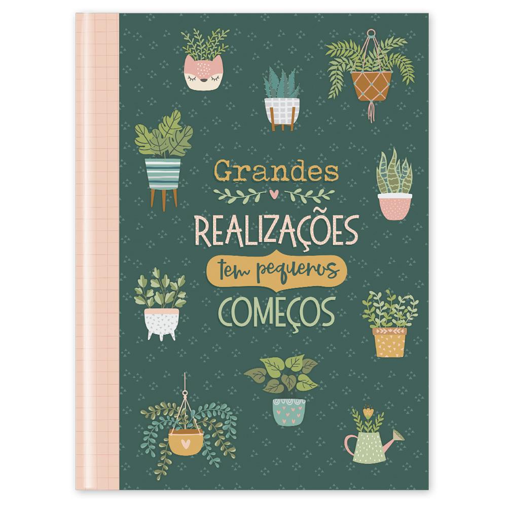 Caderno Flexível Garden