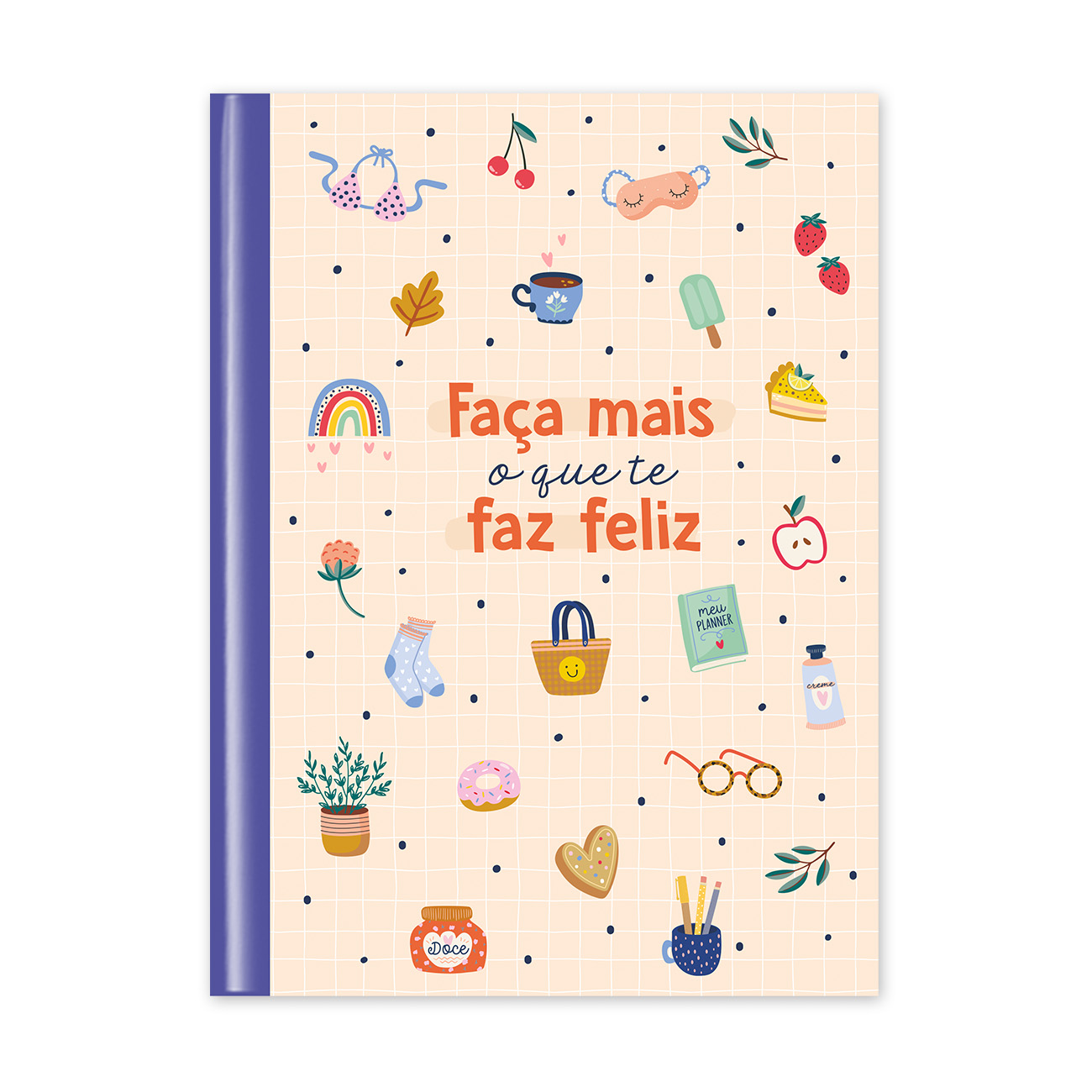 Caderno Flexível Happy Time