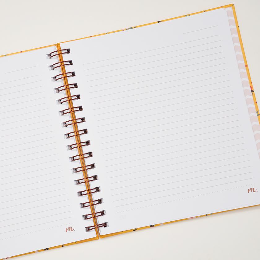 Caderno Médio Julieta