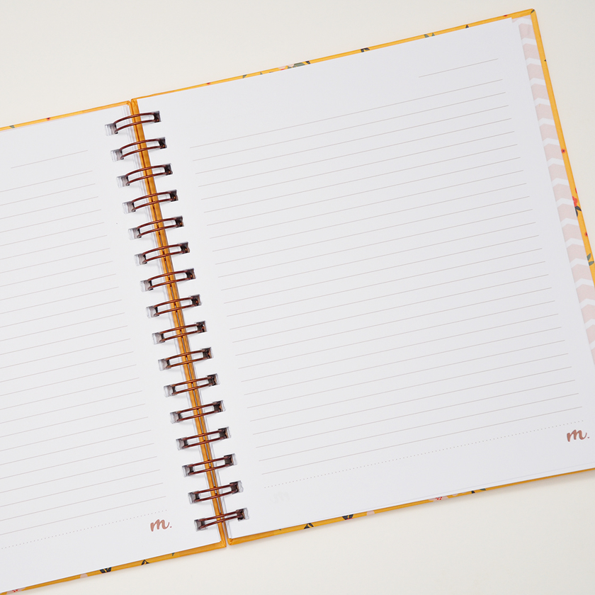 Caderno Médio Lina
