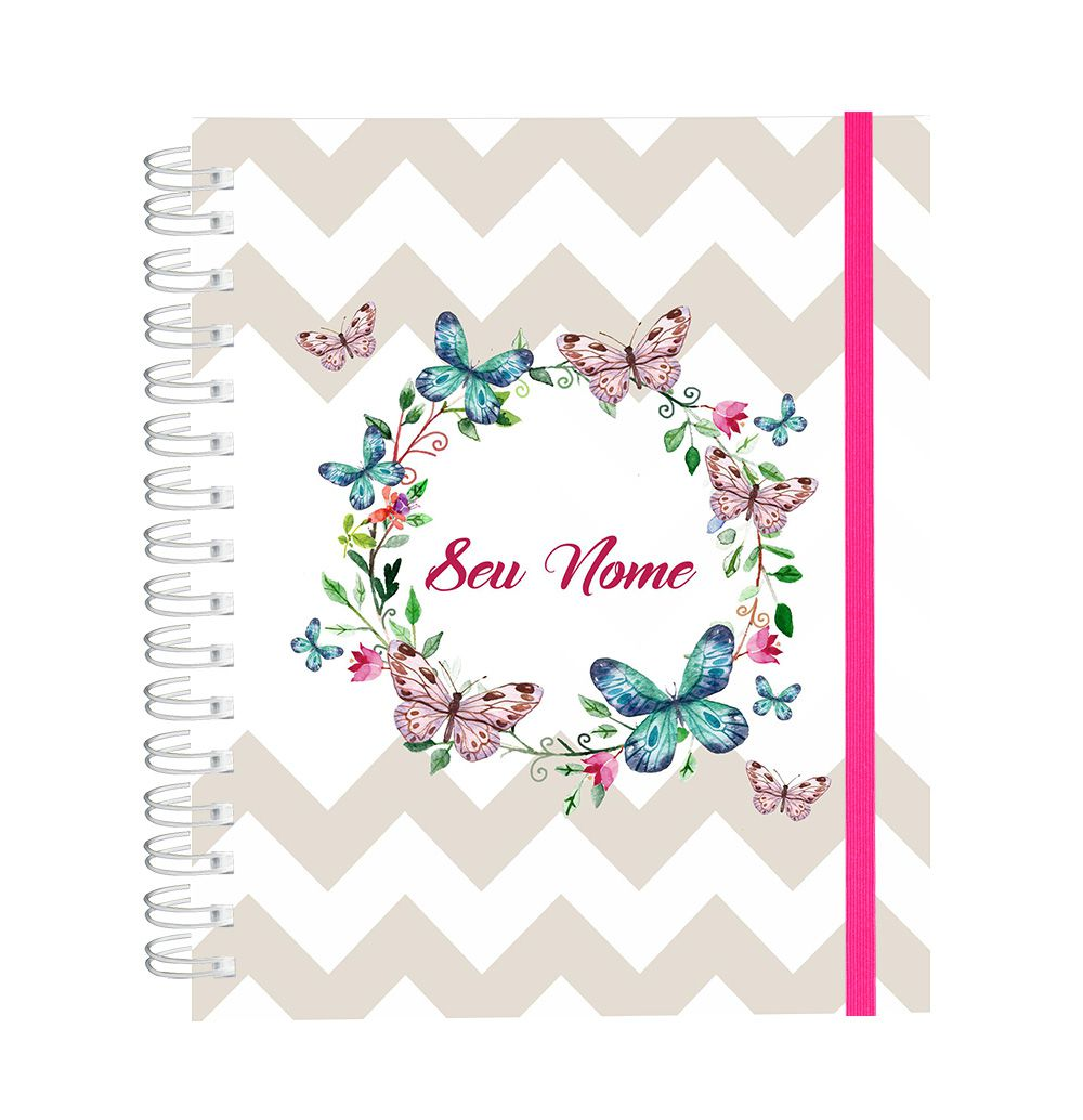 Caderno Soft Butterfly