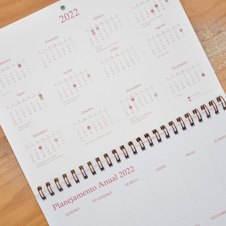Calendário de Parede Josina