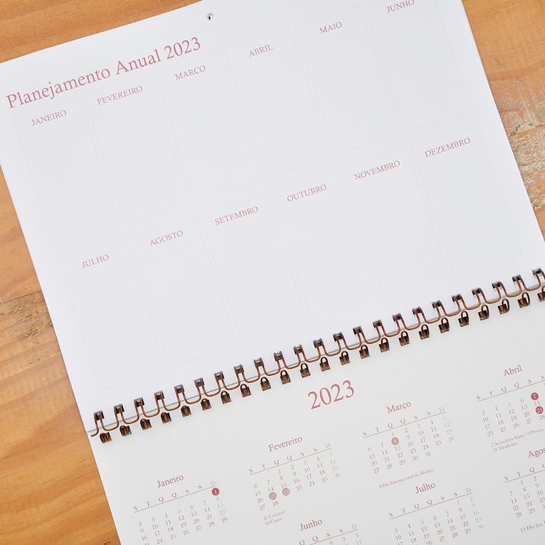 Calendário de Parede Zizi
