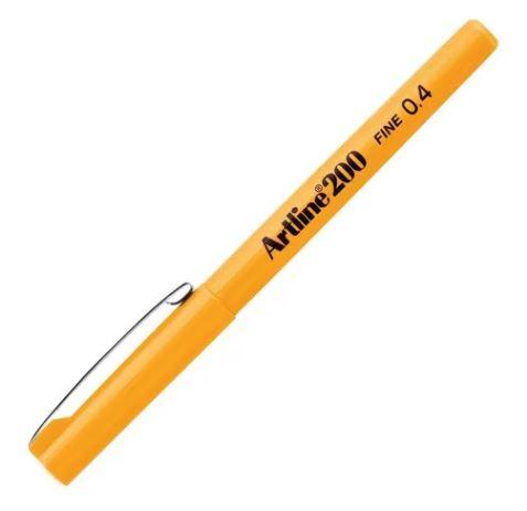 Caneta Hidrográfica 0.4mm Amarelo