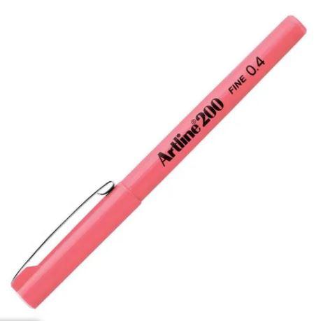 Caneta Hidrográfica 0.4mm Pink