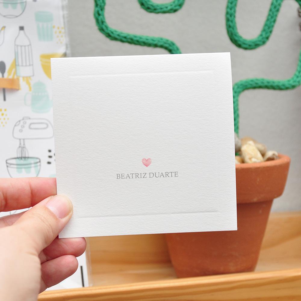 Cartão Social Coração