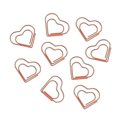 Clips Coração Rosé
