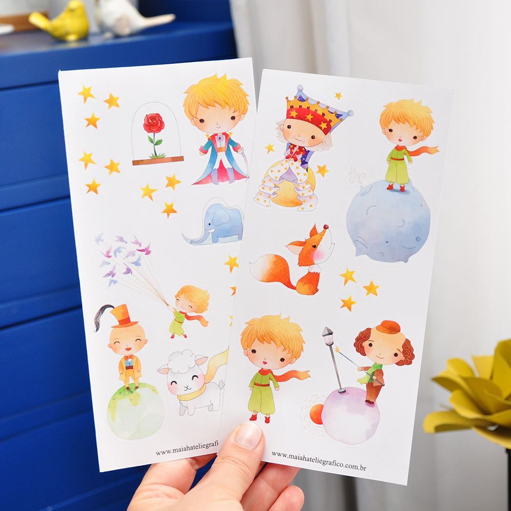 Kit Adesivos Pequeno Príncipe