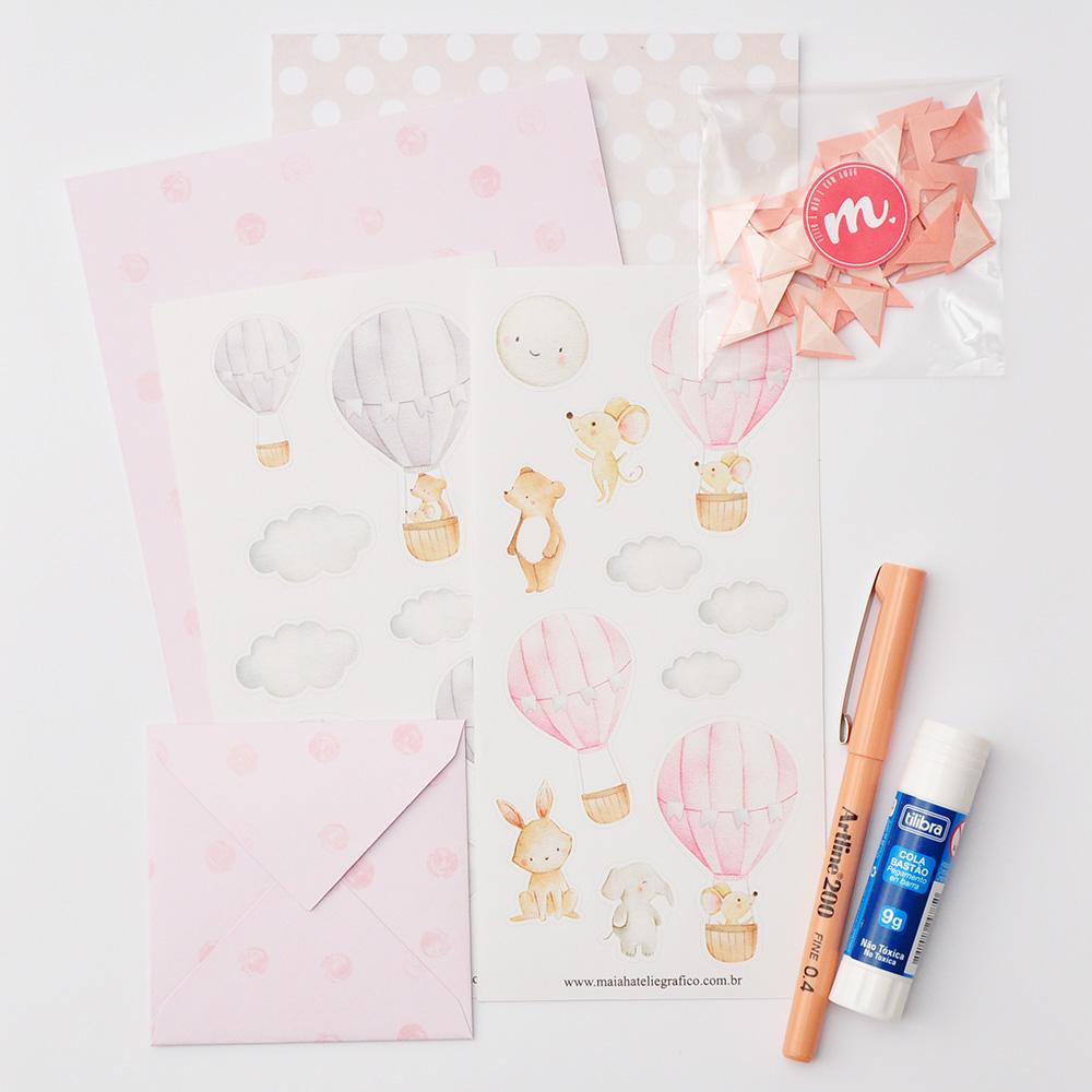 Kit Decorativo Balões - Rosa