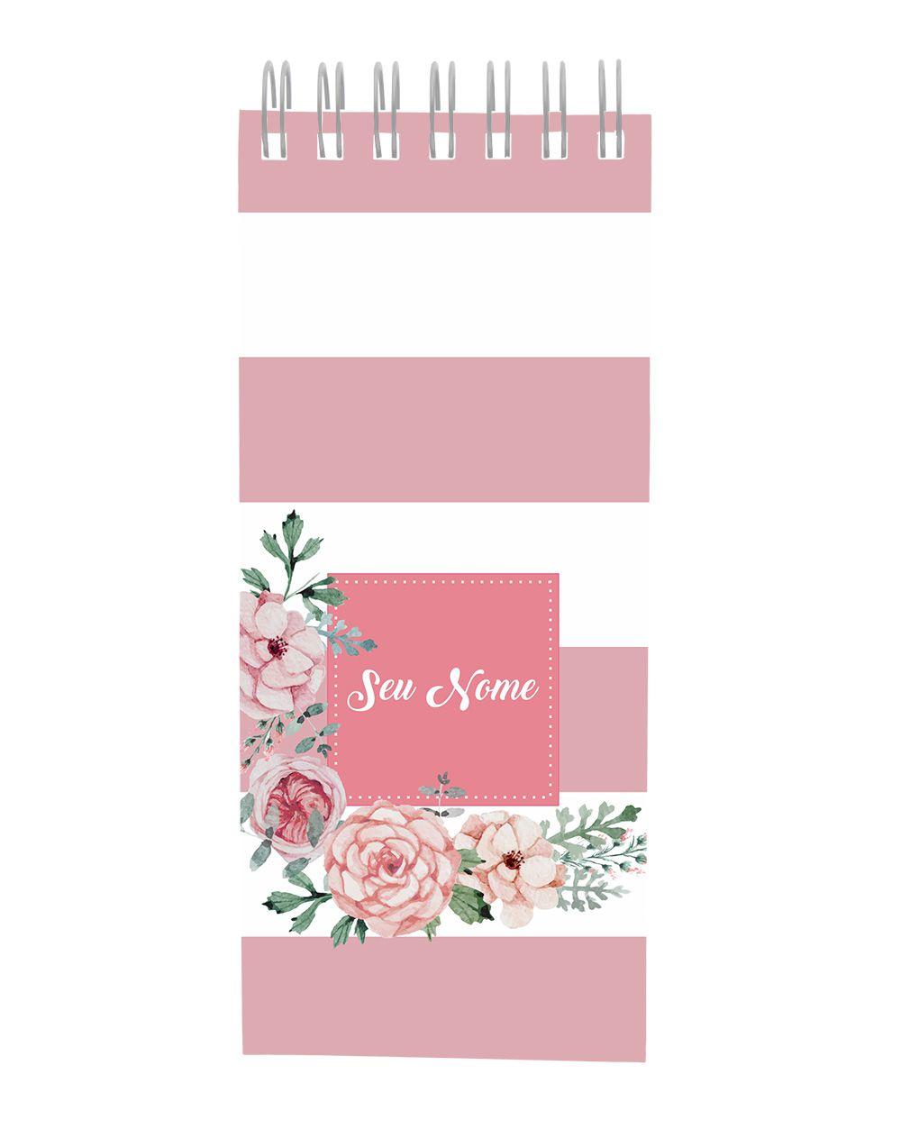 Lista de Tarefas Candy Flowers Rosé