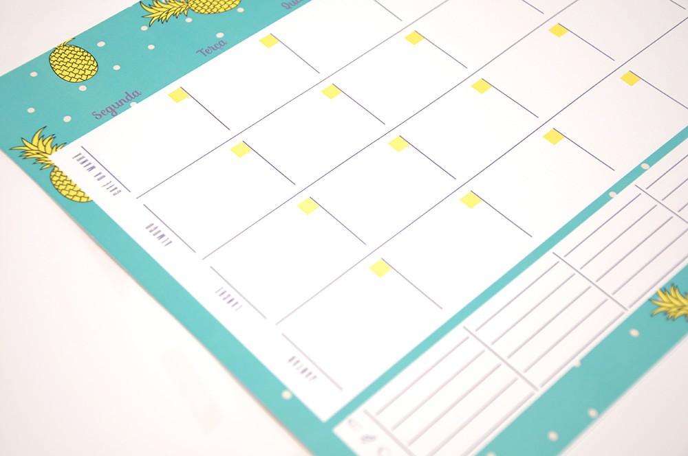 Planejamento Semanal Saúde & Bem Estar