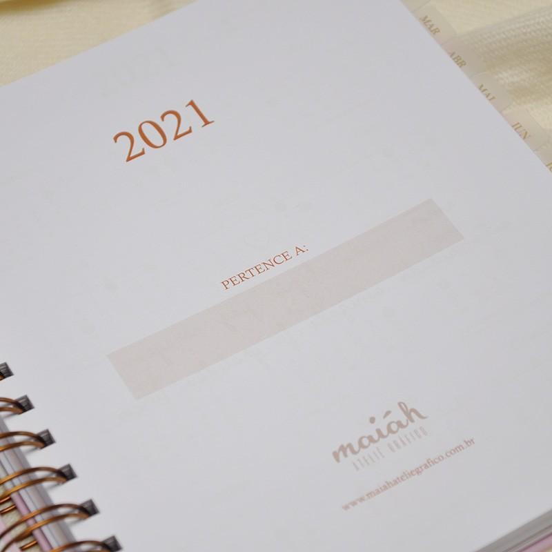 Planner 2021 Logomarca