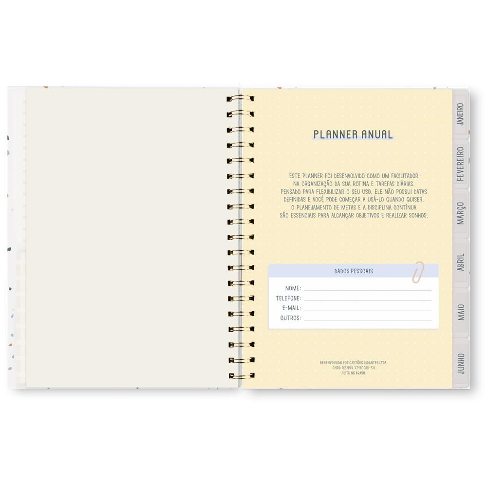 Planner Anual Permanente Florir