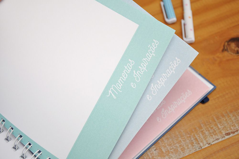 Planner Candy Blue