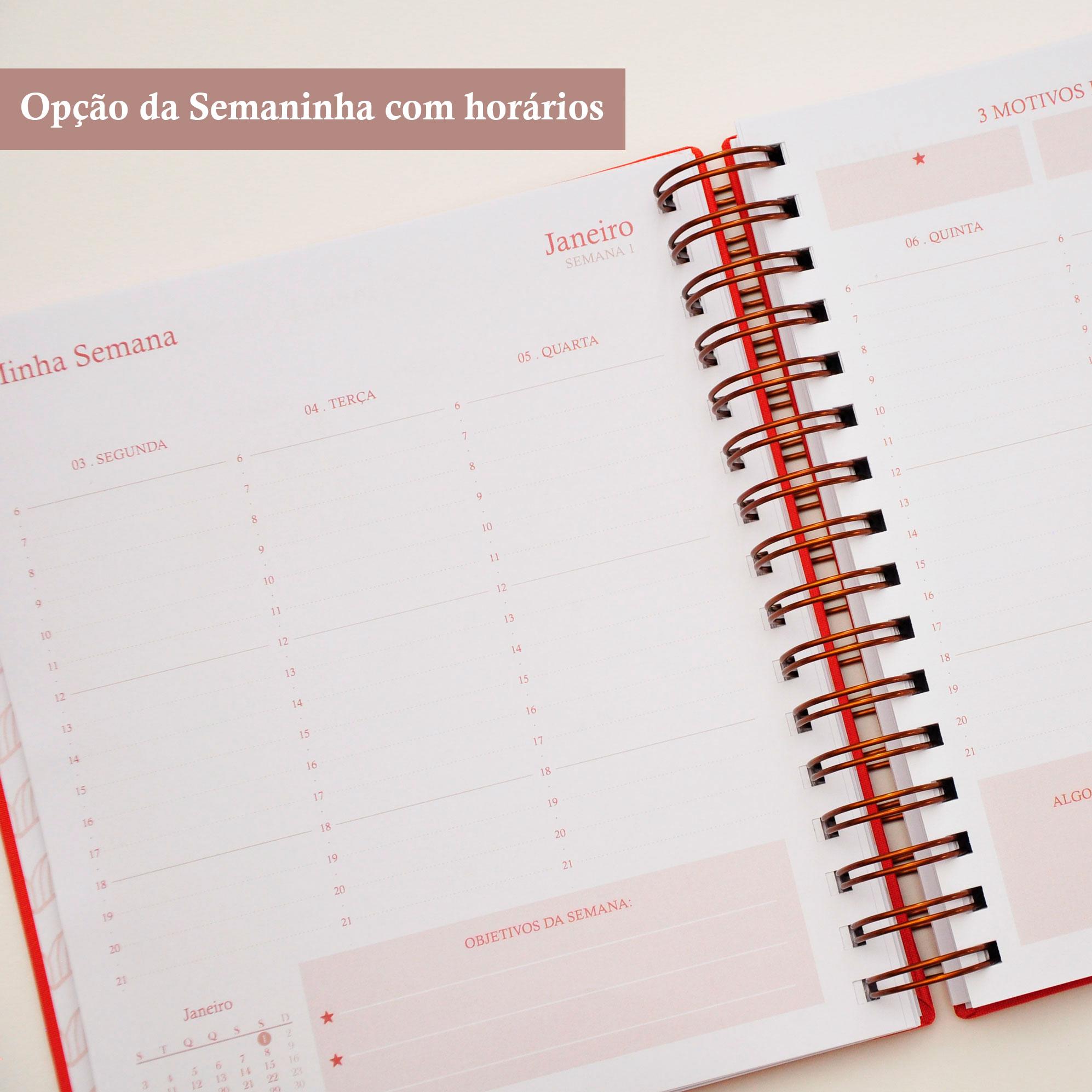 Planner Datado Carmen