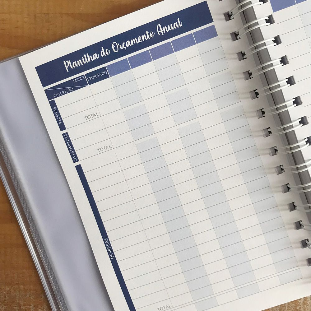 Planner Financeiro Arabescos