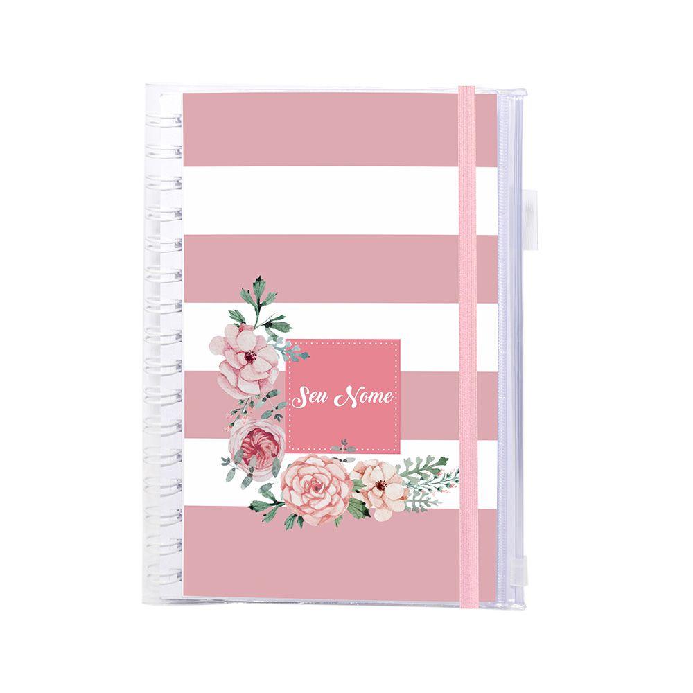 Planner Financeiro Candy Flowers Rosé