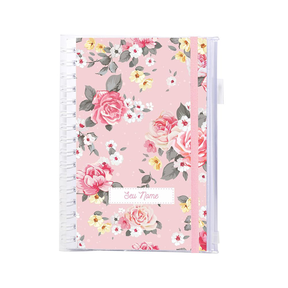 Planner Financeiro Candy Roses