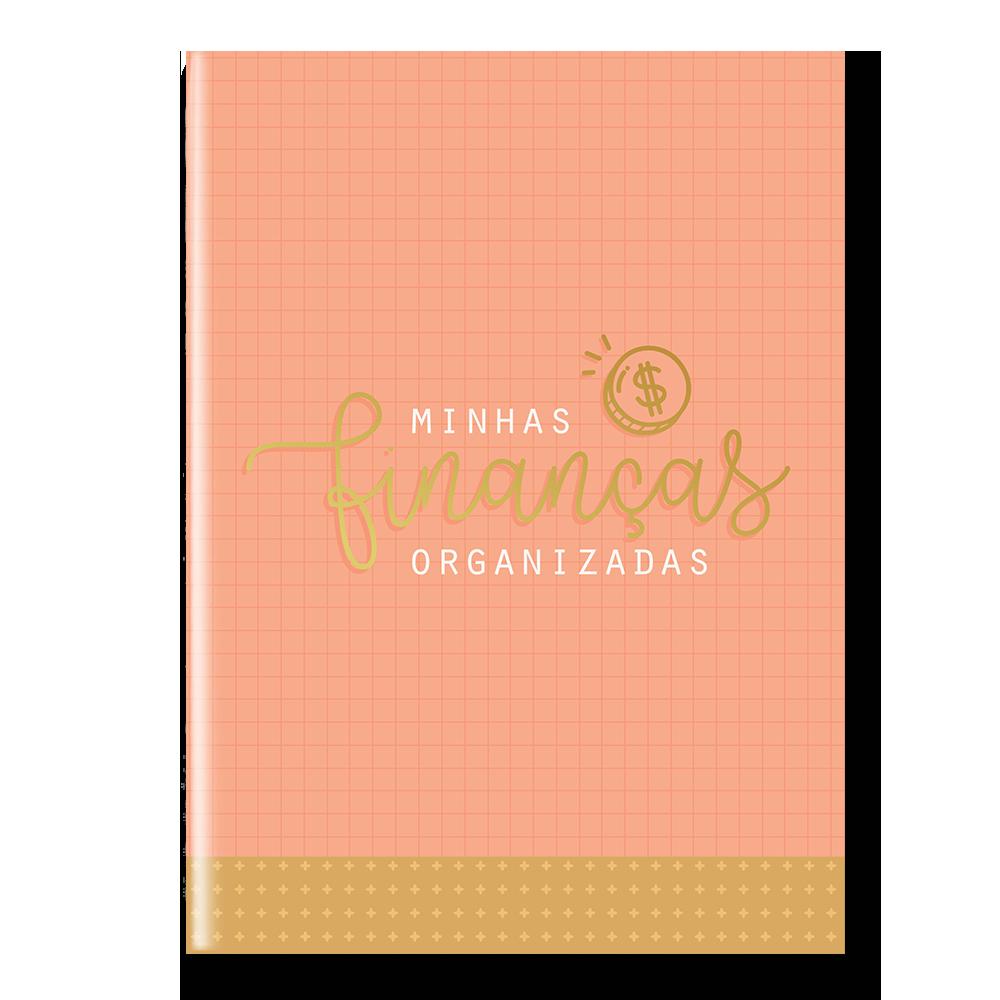 Planner Financeiro - capa laranja