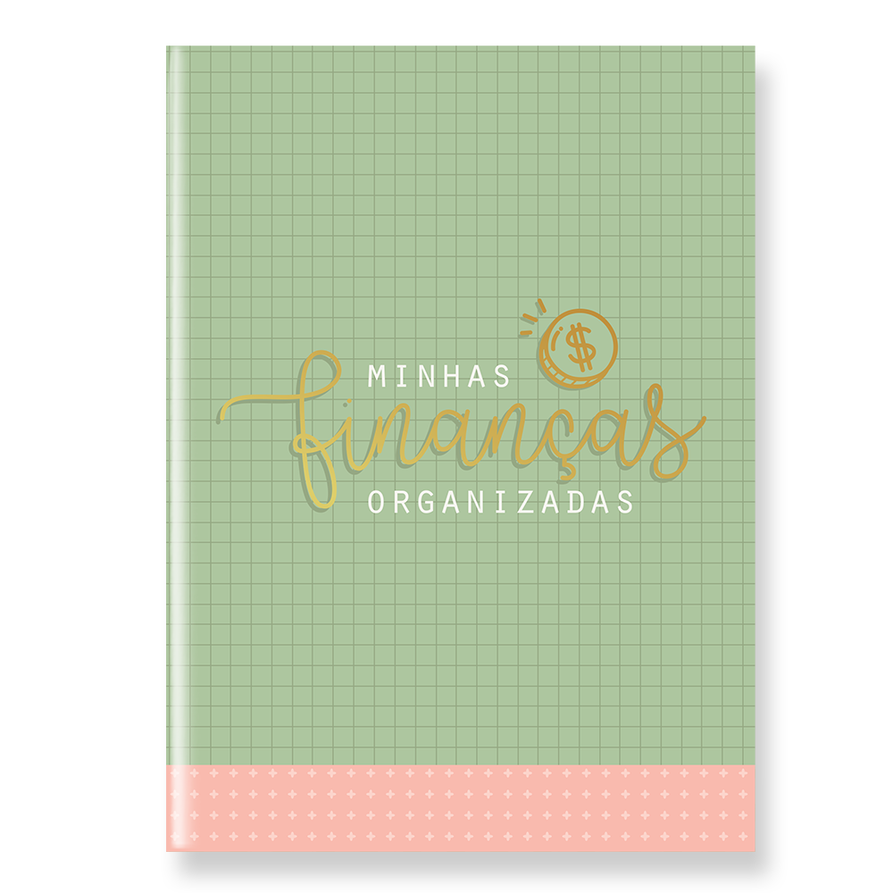 Planner Financeiro - capa verde